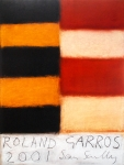 Sean Scully: Roland Garros, 2001