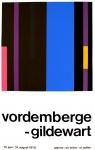 Friedrich Vordemberge-Gildewart: Galerie im Erker, 1970