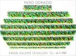 Piero Dorazio: Erker Galerie (3), 1981