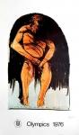 Leonard Baskin : Olympic Games Montreal, 1976