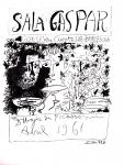 Pablo Picasso: Sala Gaspar, 1961