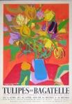 Roger Bezombes: Tulipes De Bagatelle, 1959