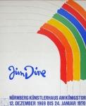 Jim Dine: Nürnberger Künstlerhaus, 1969