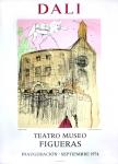 Salvador Dali: Galas castle, Teatro Museo Figueras, 1974