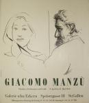 Giacomo Manzú: Galerie im Erker, 1960