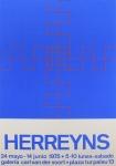 Gilbert Herreyns: Galerie Van der Voort, 1975