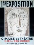 Henry de Waroquir: Cimaise du Théatre, 1961