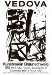 Emilio Vedova: Kunstverein Braunschweig, 1981