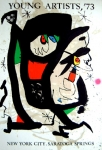 Joan Miró: Saratoga Springs, 1973
