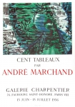 André Marchand: Galerie Charpentier, 1956