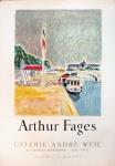 Arthur Fages: Galerie André Weil, 1955