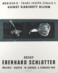 Eberhard Schlotter: Kunst Kabinett Klihm, 1962