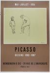 Pablo Picasso: Galerie Berggruen, 1954