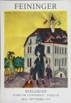 Lionel Feininger: Galerie Berggruen, 1974