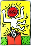 Keith Haring: Lucky Strike, 1987 (yellow)