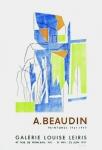 André Beaudin: Galerie Leiris, 1956
