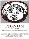 Edouard Pignon: Maison de la Pensée, 1954