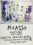 Pablo Picasso: Galerie Louis Leiris, 1957