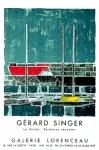 Gérard Singer: Galerie Lorenceau, 1957