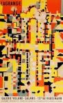 Jacques Lagrange: Galerie Villand - Galanis, 1959