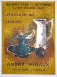 André Minaux: Galerie Sagot - Le Garrec, 1953
