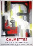 Jean Calmettes: Galerie Creuzevault, 1956