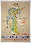 Jean Cocteau: Salon de la TWA, 1954
