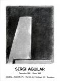 Sergi Aguilar : Galeria Joan Prats, 1984
