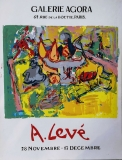 André Levé: Galerie Agora, 1967