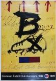 Antoni Tapies: Centenari Futbol Club Barcelona, 1998