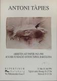 Antoni Tapies: Rupertinum, 1994