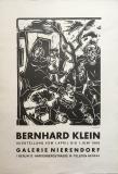 Bernhard Klein: Galerie Nierendorf, 1968