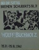 Wolff Buchholz: Galerie Herbert Sittig, 1961