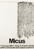 Eduard Micus: Galerie van der Voort, 1975