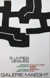 Eduardo Chillida: Galerie Maeght, 1974