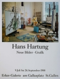 Hans Hartung: Erker Galerie, 1988