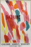 Jean Bazaine: Galerie Adrien Maeght, 1970