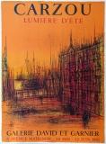 Jean Carzou: Galerie David et Garnier, 1963