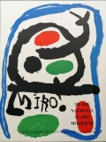 Joan Miró: Musée National dArt Moderne, 1962
