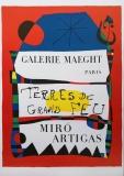 Joan Miró: Terres de Grand Feu (3), 1956
