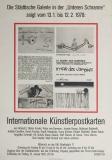 Joseph Beuys: Internationale Künstlerpostkarten, 1978