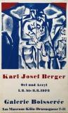 Karl Josef Berger: Galerie Boisserée, 1973