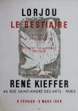 Bernard Lorjou: Galerie René Kiefer, 1966