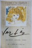 Marcel Vertes: Galerie J. Le Chapelin, 1959