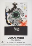 Joan Miró: Obra Grafica, 1982
