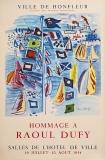 Raoul Dufy: Ville de Honflleur, 1954