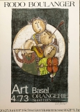 Graciela Rodo Boulanger: Art Basel, 1973