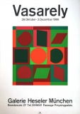 Victor Vasarely: Galerie Heseler, 1966